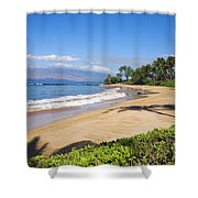 Wailea Ulua Beach Shower Curtain