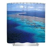 Wakaya Island Aerial Shower Curtain