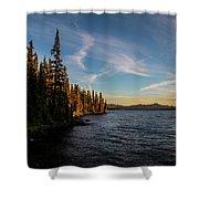 Waldo Lake Shower Curtain