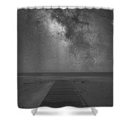 Walkway To The Universe  Shower Curtain