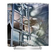 Walt Disney Hall Shower Curtain