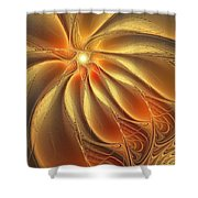 Warm Feelings Shower Curtain