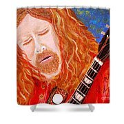 Warren Haynes Shower Curtain