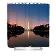 Washington Monument 1 Shower Curtain