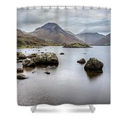 Wastwater Long Exposure Shower Curtain