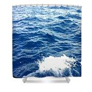Water Crash  Shower Curtain