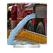 Water Dump Shower Curtain