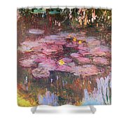 Water Lilies 1917 Shower Curtain