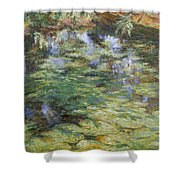 Water-lilies Shower Curtain