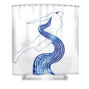 Water Nymph Xlvii Shower Curtain