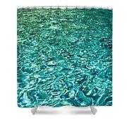 Water Patterns Shower Curtain