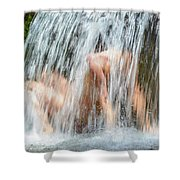 Water Play Shower Curtain