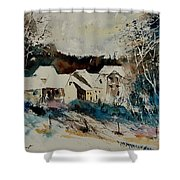 Watercolor 902040 Shower Curtain