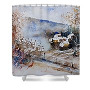 Watercolor 902091 Shower Curtain
