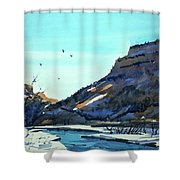 Watercolor3814 Shower Curtain