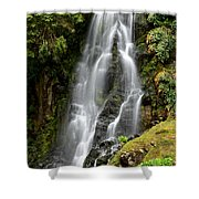 Waterfall At Azores Shower Curtain