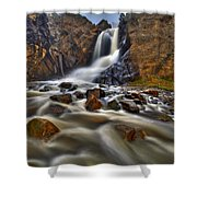 Waterfall Canyon Shower Curtain