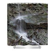 Waterfall Stream Shower Curtain