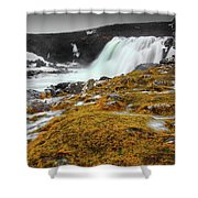 Waterfalls Of Iceland Shower Curtain