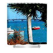 Watford Bridge From Cambridge Beaches Shower Curtain