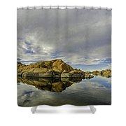 Watson Lake 2 Shower Curtain