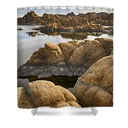 Watson Lake Arizona 13 Shower Curtain