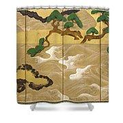 Waves At Matsushima Shower Curtain