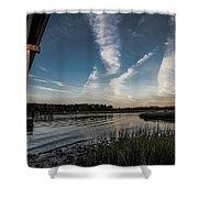 Wavey Shower Curtain