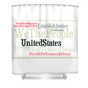 We The People Of The United States Of America Shower Curtain