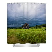 Weathered Shower Curtain