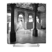 Wedding Party Noir Shower Curtain