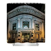 Wells Fargo Bank Building In San Francisco, California Shower Curtain