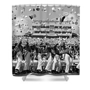 West Point Graduation Shower Curtain