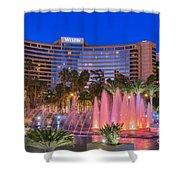 Westin Hotel Long Beach Shower Curtain