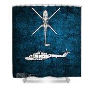 Westland Lynx Shower Curtain