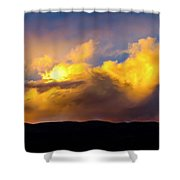 When God Picks Up A Paintbrush... Shower Curtain