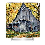 Where I Want To Be By Prankearts Fine Art Shower Curtain