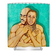 Where Umoja Begins Shower Curtain