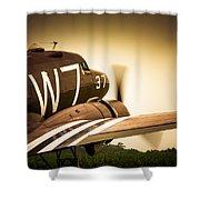 Whiskey Seven Shower Curtain