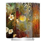 Whisper Forest Moon II Shower Curtain
