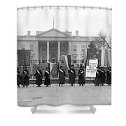 White House: Suffragettes Shower Curtain