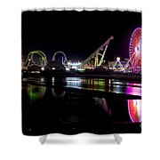 Wildwood New Jersey Shower Curtain