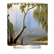 Willow Creek Shower Curtain