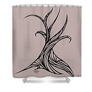 Willow Curve Shower Curtain