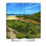 Wilsons Promontory National Park Shower Curtain