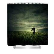 Wind Shower Curtain