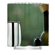 Window Sill Decoration Shower Curtain