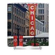 Windy City Theater Shower Curtain