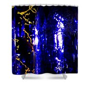 Wine Bottles 1  Shower Curtain