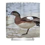 Wing Stretch.. Shower Curtain